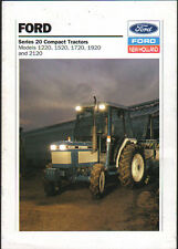 """Ford """"Series 20"""" Compact Tractor Brochure"""