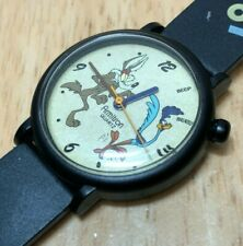 Vintage Armitron Bugs Bunny & Daffy Duck Analog Quartz Watch Hours~New Battery
