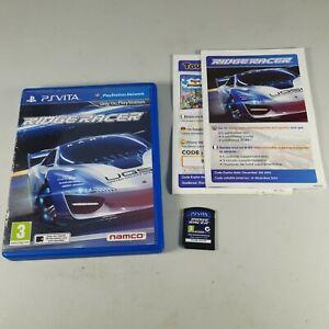 Ridge Racer Playstation PS Vita Racing Rare Video Game Manual PAL