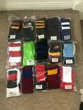 Mixed colour/style Pack Of 15 pairs, Men's Football/rugby Socks,