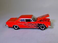 Gl 1963 Chrysler 300 Flamed Classic Muscle Car Rubber Tire Limited Edition