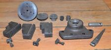 Southbend lathe parts chuck jaws bar holder vintage parts & pieces machinist lot