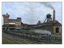 Whitwood Colliery 1874 - 1970 - Ltd Ed Print - Pit Pics - Coal Mining