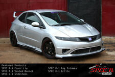Aerokit R1 Bumper bodykit INTAKES ducts Civic Type R FN2 FK FN white