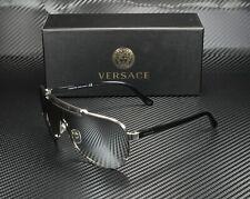 VERSACE VE2140 10006G Silver Light Grey Mirror Silver 40 mm Men's Sunglasses