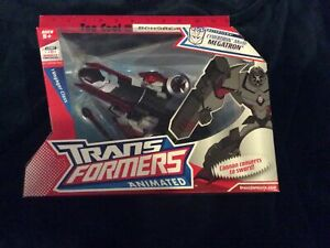 Transformers Animated Voyager Class Cybertron Mode Megatron New