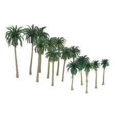 15pcs HO N Scale Palm Trees Model Train Layouts Railroad Scenery 1 70-1 150