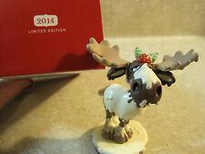 Hallmark Keepsake Ornament 2014 WHITE CHOCOLATE MOOSE LIMITED QUANTITY