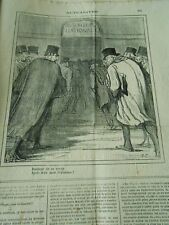 HD 3500 DAUMIER 1871 Bonheur to meet again By three month of absence