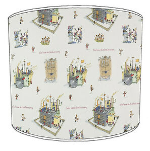 Roald Dahl Lampshades Ideal To Match Quentin Blake Wallpaper Borders