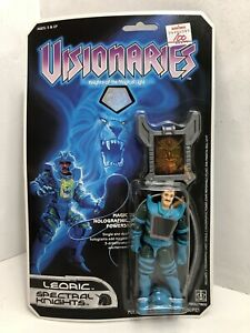 Vtg '80s Hasbro Visionaries Leoric Spectral Knights Action Figure MOC