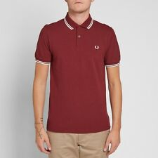 FRED PERRY TWIN TIPPED Port Polo Shirt-Taille 2XL/XXL M3600