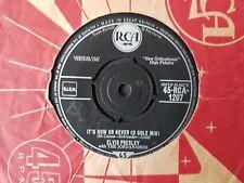 ELVIS PRESLEY ITS NOW OR NEVER  RCA VICTOR ORIGINAL   RARE