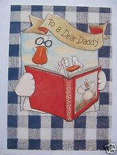HALLMARK FOREVER FRIENDS STORY TIME TO A DEAR DADDY BIRTHDAY GREETING CARD