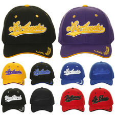 Heve Headwear Men's Embroidered Script City Name Baseball Cap Hat