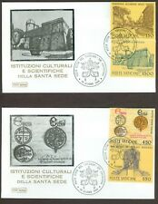 Vatican City Sc# 733-6: Pontifical Academy of Sciences on 2 FDC