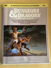 IM2 THE WRATH OF OLYMPUS Immortals Module D&D TSR Dungeons Dragons AD&D