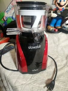 Used Tribest Slowstar Vertical Cold Press Slow Juicer juicing machine