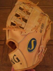Spalding Rod Carew Model Vintage Baseball Glove #42-5355