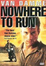 NOWHERE TO RUN (DVD, 1998) JEAN-CLAUDE VAN DAMME