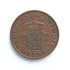 1914 Netherlands 1 Cent SNo25042