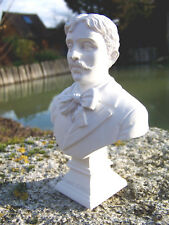 RE0252   FIGURINE STATUETTE REPRODUCTION MARCEL PROUST   STYLE ALBATRE