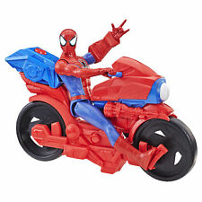Spider-Man Titan Hero Series Spider-Man Figure w/Power FX Cycle Plays Sounds