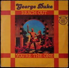 *** MAXI 45T / GEORGE DUKE - REACH OUT *EPIC RECORDS / PRESSAGE HOLLANDE ***