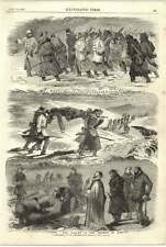 1855 Crimean War Trenches Valley Of The Shadow Of Death