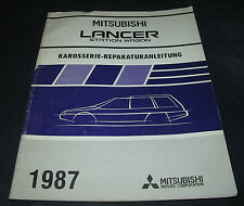 Werkstatthandbuch Karosserie Mitsubishi Lancer Wagon ab 1987!