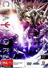 Claymore : Vol 3 (DVD, 2009) New Region 4
