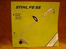 Stihl FE 55   Bedienungsanleitung Gebrauchsanleitung BAL Betriebsanweisung