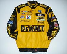 SIZE 3XL Nascar MATT KENSETH DEWALT EMBROIDERED Leather Jacket NEW XXXL