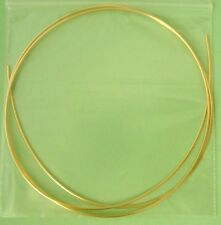 2 ft 14k Gold filled 18 gauge round beading wire craft wrapping dead soft W18Dsg