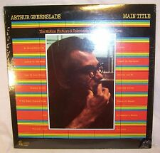 Arthur Greenslade MAIN TITLE The Motion Picture & Television Music of Rod McKuen