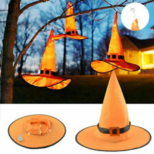 Halloween Decorations Witch Hats Caps String Lights Outdoor Cosplay Party UK LO
