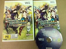 Tales of Symphonia Dawn of The New World Nintendo Wii LIKE NEW