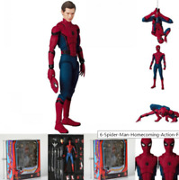 """6"""" Spider-Man Homecoming Action Figure Mafex Medicom Toy Gift"""
