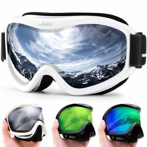 Snow Googles Double Layer Lens Ski Glasses Anti-Fog UV Protection 400 Men Women