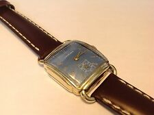 VTG MENS 1941 WWII LONGINES 10L DRESS WATCH (SERVICED)