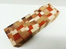 X-Cut Mosaik Messergriff Block Knife Blank Schmuckholz Drechseln Pen Blank TOP