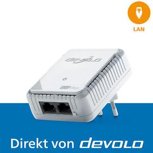 devolo dLAN 500 duo Powerline 500 Mbps 2x LAN-Anschluss 1x Erweiterungsadapter