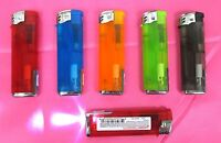 Lof of 12--Electronic LED Lighter  Flash Light, Random Color,Refillable--EL50LED