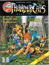 Thundercats Magazine #1 Premiere Issue Winter 1987 Poster Intact!