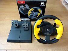 Logitech Formule GP Racing Volant et Pédales contrôleur analogique pour PC USB