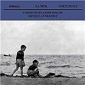 CD DEBUSSY LA MER TROIS NOCTURNES L'ORCHESTRA DE LA SUISSE ROMANDE ERNST ANSER
