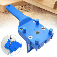 Handheld Woodwork Doweling Jig Drill Locator Wood Dowel Drilling Hole Saw Tool