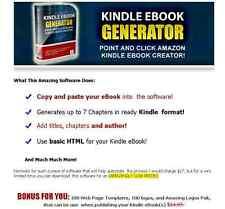 Amazon Kindle Ebook Creator Software for Windows cd