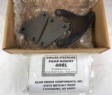 Alan Grove 408L PS Power Steering Pump Bracket SB Chevy SBC LWP Serpentine 75-78