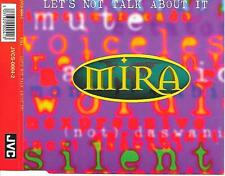 MIRA - Let's not talk about it CDM 4TR Synth-Pop Tribal House 1995 Germany